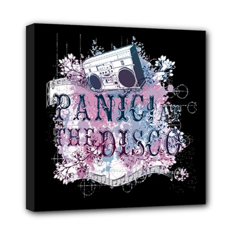 Panic At The Disco Art Mini Canvas 8  X 8