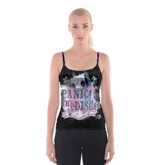 Panic At The Disco Art Spaghetti Strap Top