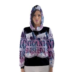 Panic At The Disco Art Hooded Wind Breaker (women)