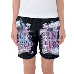 Panic At The Disco Art Women s Basketball Shorts