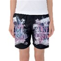 Panic At The Disco Art Women s Basketball Shorts View1