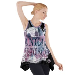 Panic At The Disco Art Side Drop Tank Tunic