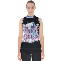 Panic At The Disco Art Shell Top