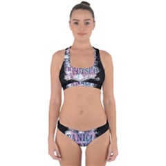 Panic At The Disco Art Cross Back Hipster Bikini Set
