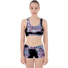 Panic At The Disco Art Work It Out Sports Bra Set