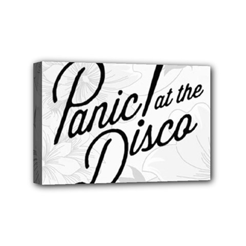 Panic At The Disco Flowers Mini Canvas 6  X 4
