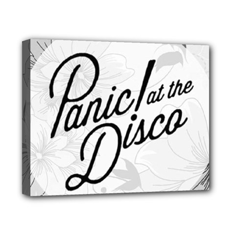 Panic At The Disco Flowers Canvas 10  X 8