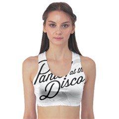 Panic At The Disco Flowers Sports Bra