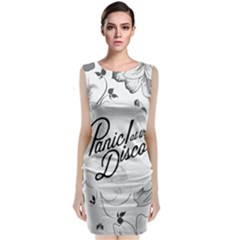 Panic At The Disco Flowers Classic Sleeveless Midi Dress