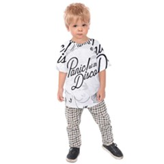 Panic At The Disco Flowers Kids Raglan Tee
