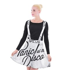 Panic At The Disco Flowers Suspender Skater Skirt