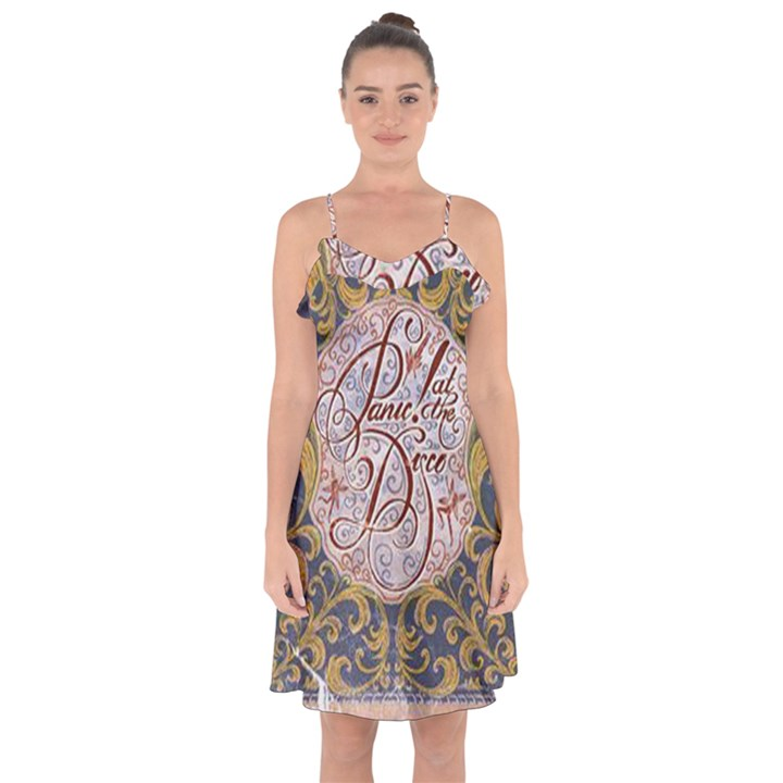 Panic! At The Disco Ruffle Detail Chiffon Dress