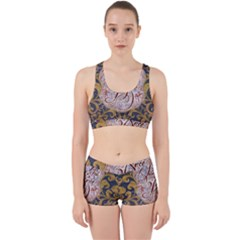 Panic! At The Disco Work It Out Sports Bra Set