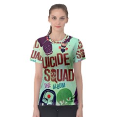 Panic! At The Disco Suicide Squad The Album Women s Sport Mesh Tee