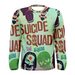 Panic! At The Disco Suicide Squad The Album Men s Long Sleeve Tee