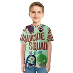 Panic! At The Disco Suicide Squad The Album Kids  Sport Mesh Tee