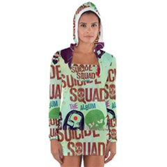 Panic! At The Disco Suicide Squad The Album Long Sleeve Hooded T Shirt