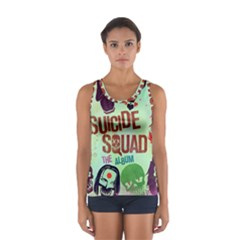 Panic! At The Disco Suicide Squad The Album Sport Tank Top