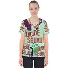 Panic! At The Disco Suicide Squad The Album Scrub Top