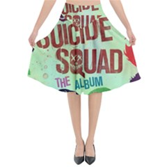 Panic! At The Disco Suicide Squad The Album Flared Midi Skirt