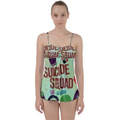 Panic! At The Disco Suicide Squad The Album Babydoll Tankini Set