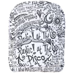 Panic! At The Disco Lyric Quotes Full Print Backpack