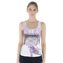 Panic At The Disco Racer Back Sports Top