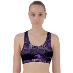 Panic At The Disco Back Weave Sports Bra