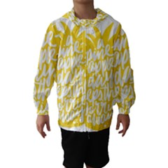 Cute Pineapple Yellow Fruite Hooded Wind Breaker (kids)