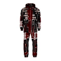 Panic At The Disco Poster Hooded Jumpsuit (kids)