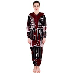 Panic At The Disco Poster Onepiece Jumpsuit (ladies)
