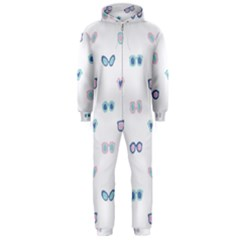 Cute Sexy Funny Sunglasses Kids Pink Blue Hooded Jumpsuit (men)