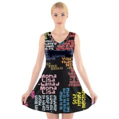 Panic At The Disco Northern Downpour Lyrics Metrolyrics V Neck Sleeveless Skater Dress
