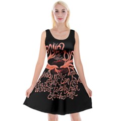 Panic At The Disco   Lying Is The Most Fun A Girl Have Without Taking Her Clothes Reversible Velvet Sleeveless Dress