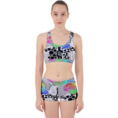 Panic ! At The Disco Work It Out Sports Bra Set
