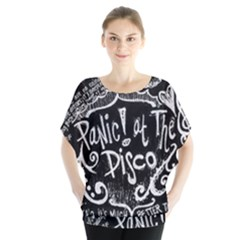 Panic ! At The Disco Lyric Quotes Blouse