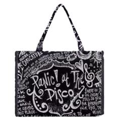 Panic ! At The Disco Lyric Quotes Zipper Medium Tote Bag