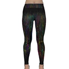 Brain Cell Dendrites Classic Yoga Leggings