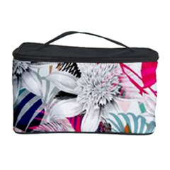 Flower Graphic Pattern Floral Cosmetic Storage Case