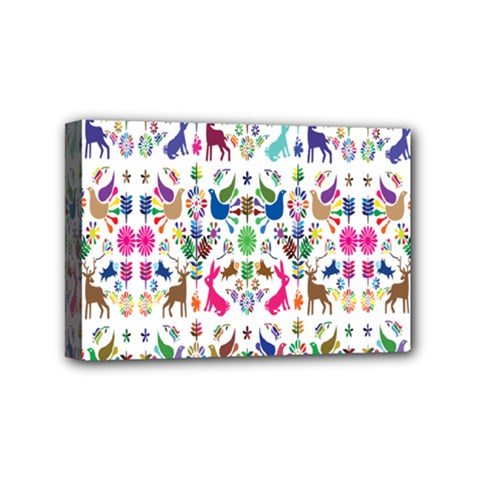 Birds Fish Flowers Floral Star Blue White Sexy Animals Beauty Rainbow Pink Purple Blue Green Orange Mini Canvas 6  X 4