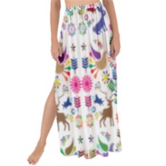 Birds Fish Flowers Floral Star Blue White Sexy Animals Beauty Rainbow Pink Purple Blue Green Orange Maxi Chiffon Tie Up Sarong