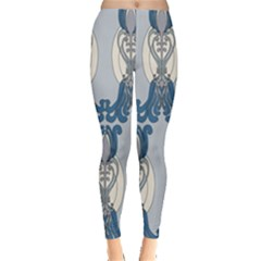 Flower Floral Leaf Beauty Art Leggings