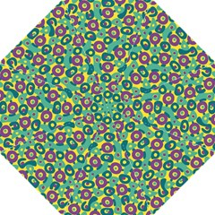Discrete State Turing Pattern Polka Dots Green Purple Yellow Rainbow Sexy Beauty Golf Umbrellas