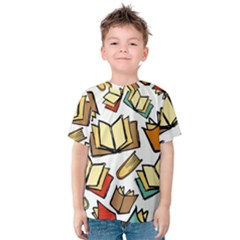 Friends Library Lobby Book Sale Kids  Cotton Tee