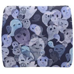 Ghosts Blue Sinister Helloween Face Mask Back Support Cushion