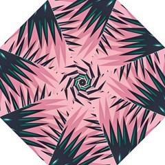 Graciela Detail Petticoat Palm Pink Green Golf Umbrellas