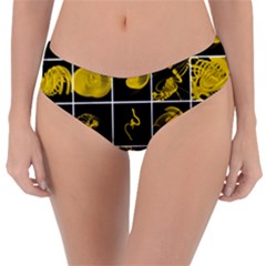 Grasshopper Rhino Spirograph Beautiful Fabulous Reversible Classic Bikini Bottoms