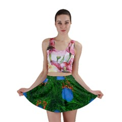 Fluorescence Microscopy Green Blue Mini Skirt