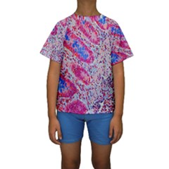 Histology Inc Histo Logistics Incorporated Alcian Blue Kids  Short Sleeve Swimwear