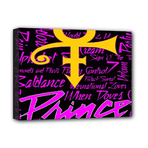 Prince Poster Deluxe Canvas 16  X 12